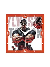 Stallone Dog Detailed Wall  Clock - By