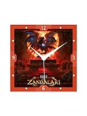 Rise Of The Zandalari Detailed Wall  Clock - By