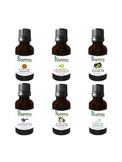 Combo Set Of Aromatherapy Massage Almond Oil, Avocado Oil, Coconut Oil, Lavender Oil, Ylang Ylang Oil, Jasmine OiL - By