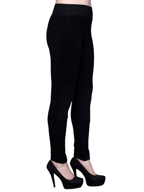 0f11c6ce71540 Buy Black Viscose Jeggings by Castle Lifestyle - Online shopping for  Jeggings in India | 12429199
