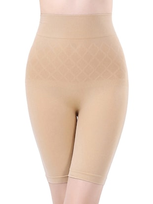 beige cotton shaper thighs -  online shopping for shapewear