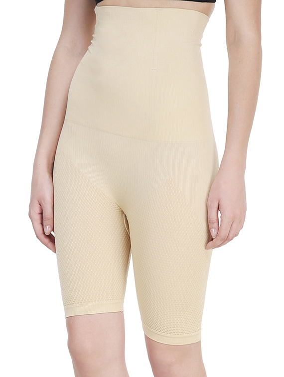 76d42f8680760 Buy Beige Cotton Shaper Thighs by Prettycat - Online shopping for Shapewear  in India
