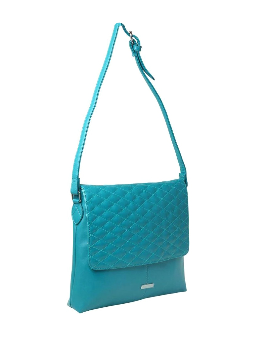 Blue Synthetic Leather Sling Bag By Oriflame Online Ping For Bags In India 12493572