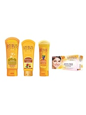 Lotus Herbals Anti Tan Regime Kit - By