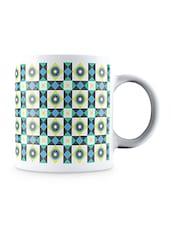 Multicolor Mosaic Portuguese Pattern Ceramic Mug - By