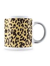 Multicolor Leopard Animal Pattern Ceramic Mug - By