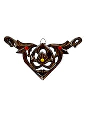 Brown Buffalo Horn Wall Key Hanger - By