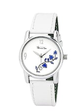 white wrist round dail watch -  online shopping for Analog watches
