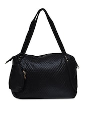 Black PU Formal Hand Bag - By