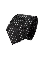 black micro fiber tie -  online shopping for Ties