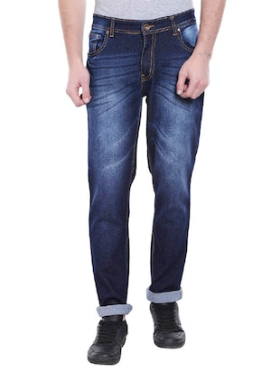 blue cotton jean -  online shopping for Jeans