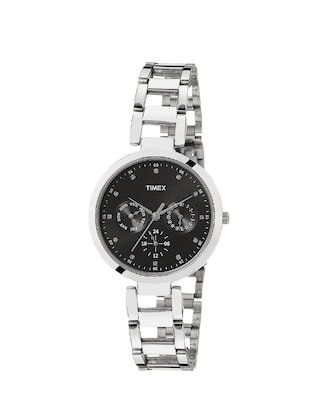 TIMEX ANALOGUE BLACK DIAL WOMEN'S WATCH - TW000X205 -  online shopping for Analog watches