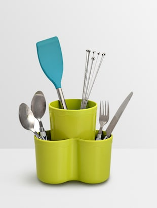 Solid lime plastic cutlery stand -  online shopping for Cutlery Racks