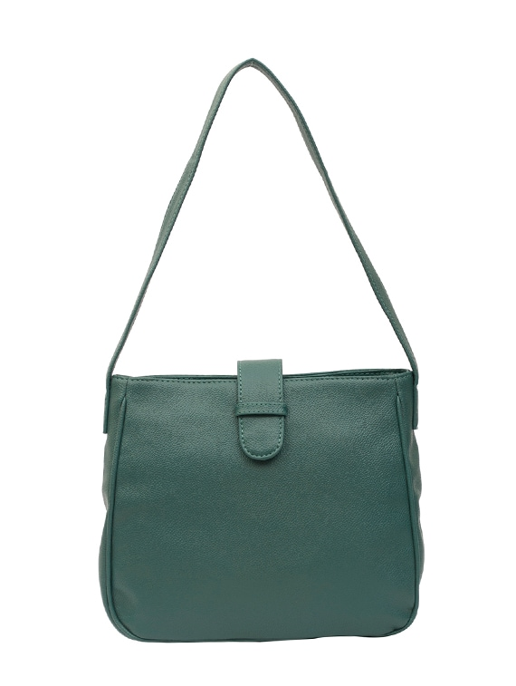 6c5c9fb9c1 Buy Green Leatherette Handbag by Bagsy Malone - Online shopping for Handbags  in India