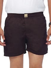brown cotton boxer -  online shopping for Boxers