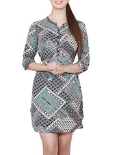 multi belted dress -  online shopping for Dresses