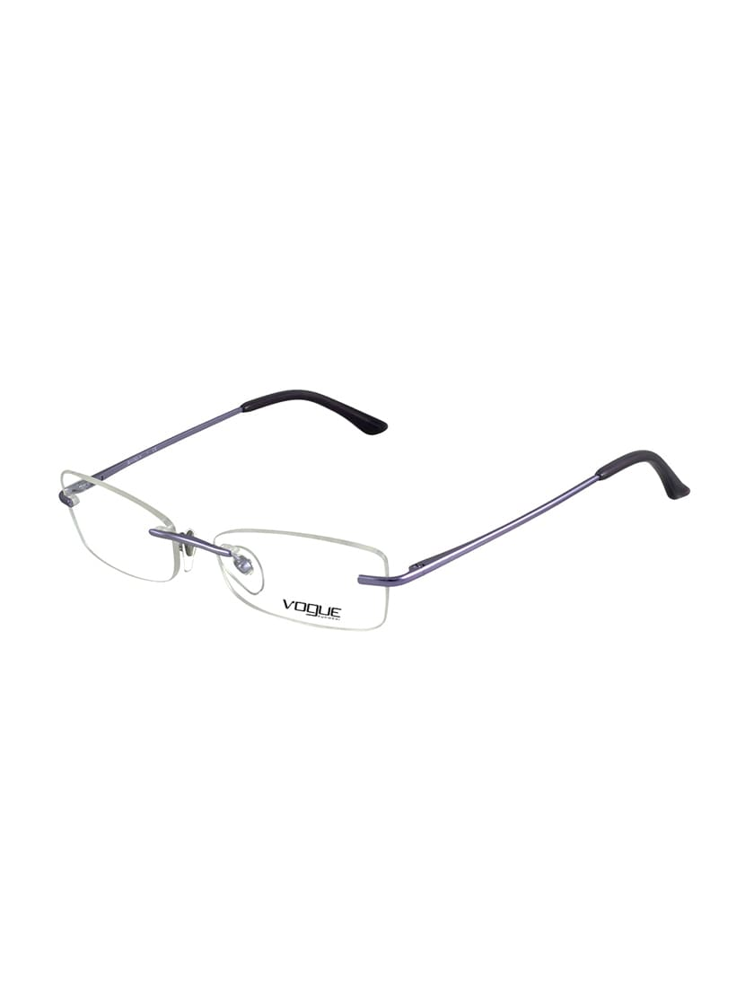 41475fc9d31 Buy Rimless Rectangle Eyeglass by Vogue - Online shopping for Men Spectacle  Frames in India
