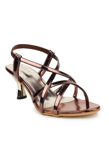 100cc96cb9 Buy Bronze Embellished Sandals for Women from Catwalk for ₹598 at ...