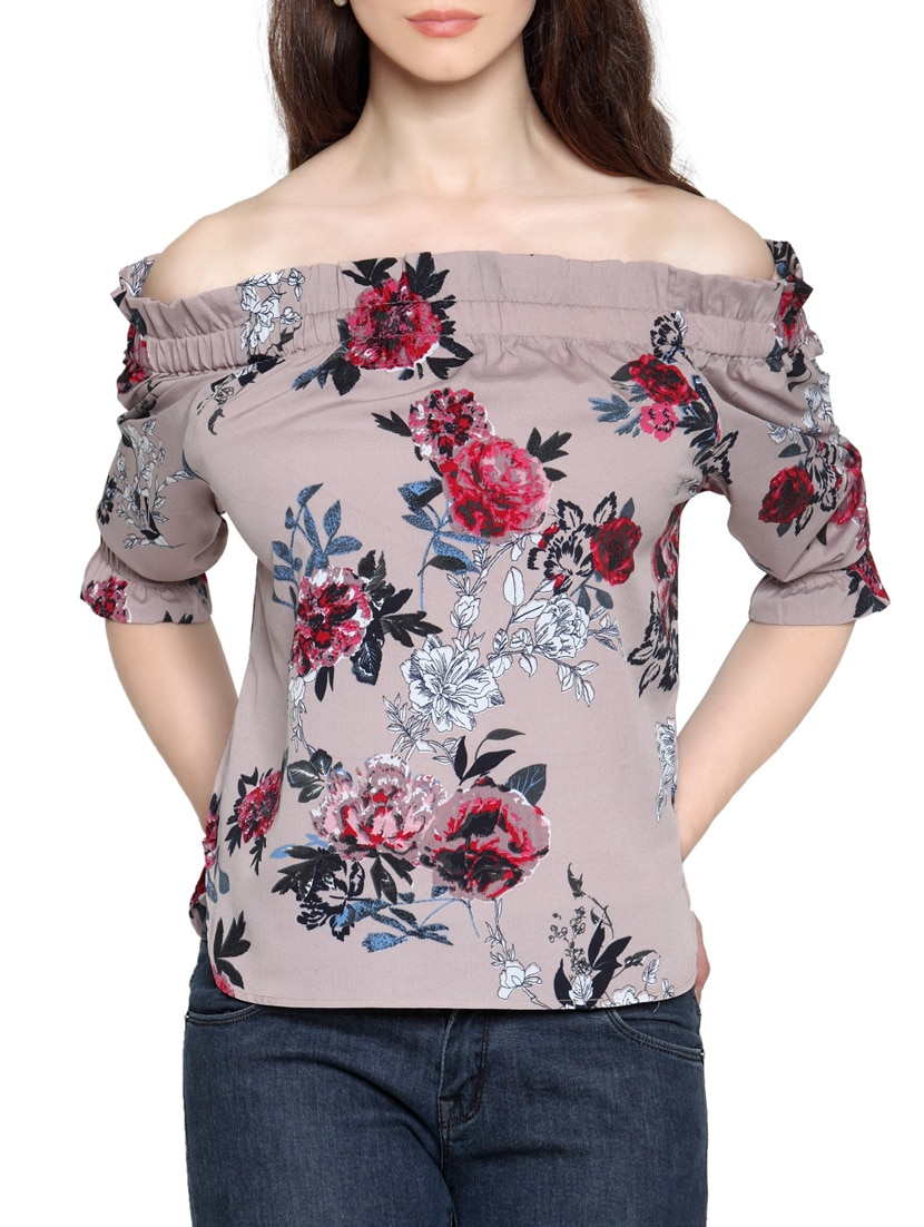 0afbade1e9974f Buy Floral Off Shoulder Top for Women from Envy Me Ny for ₹538 at 46% off