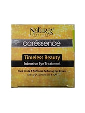 Nature'S Nature's Timeless Beauty Dark Circle & Puffiness Reducing Eye Cream (50 G) - By
