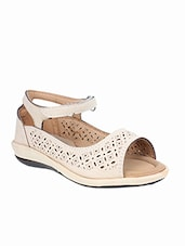 nude cut work  sandal -  online shopping for sandals
