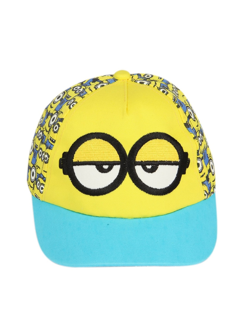 aaefa74480f Buy Ilu Minion Hiphop Snapback Caps Boys Girls Hats-3-12 Yrs by Ilu -  Online shopping for Caps in India