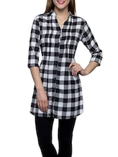 black cotton regular tunic -  online shopping for Tunics