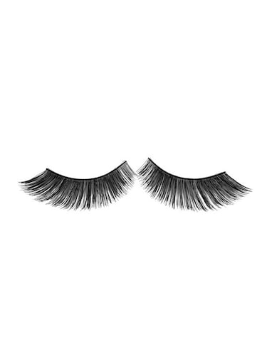 GlamGals Stylish Black Soft Thick Reusable False Eye Lashes For Women - 12892095 - Standard Image - 1