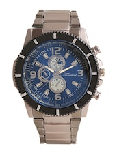 Timebre Men's Casual Blue Analog Watch -  online shopping for Chronograph Watches