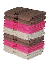 BIANCA 12 Piece Face Towel (100% Cotton) -  online shopping for towels