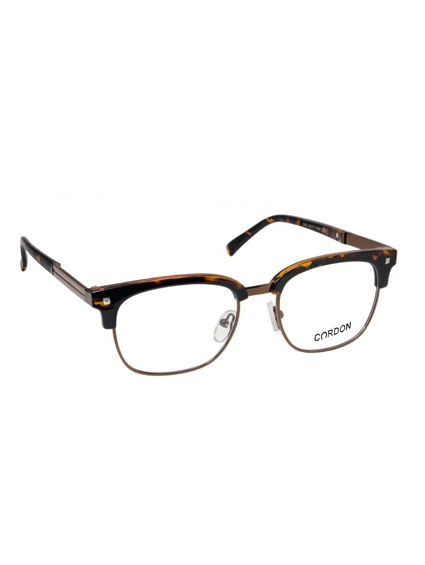 e7249d09d0a73 Buy Cardon Tortoise Brown Clubmaster Full Rim Eye Frames for Men from Cardon  for ₹730 at 54% off