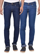 blue set of 2 jeans -  online shopping for Jeans