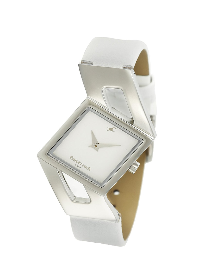 27f5364aed6 Buy Fastrack Girls Analog White Dial Women s Watch - Ne6035sl01 for Women  from Fastrack for ₹2395 at 0% off