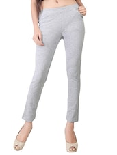 grey cotton jeggings -  online shopping for Jeggings