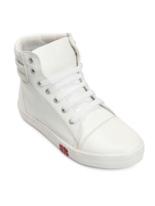 white tpr sneakers -  online shopping for Sneakers