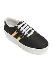 black tpr plimsolls sneakers -  online shopping for Sneakers
