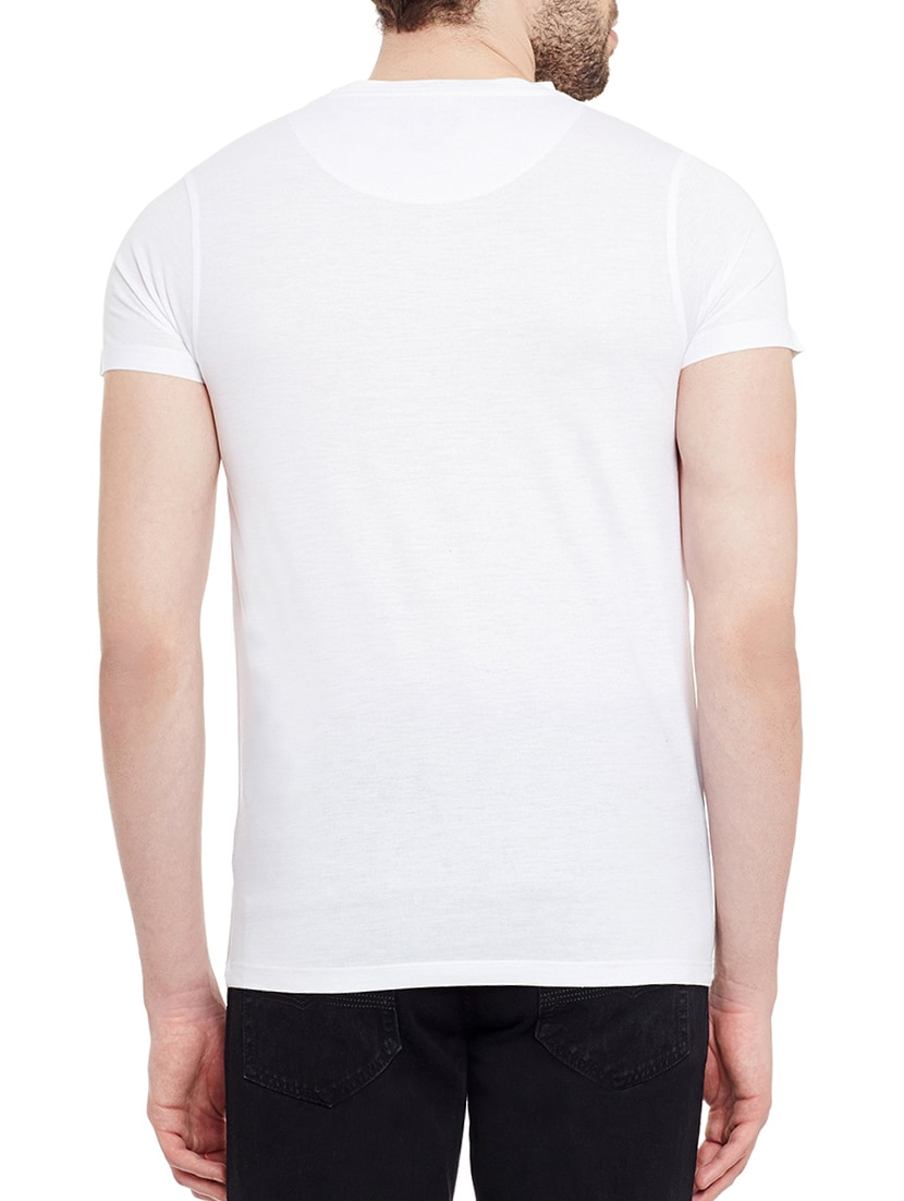 2f17cb4a4 Buy Grey Polyester Graphic T-shirt for Men from Wear Your Mind for ₹713 at  35% off   2019 Limeroad.com