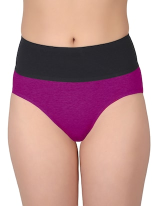 set of 5 multicolored cotton panties - 13081662 - Standard Image - 16