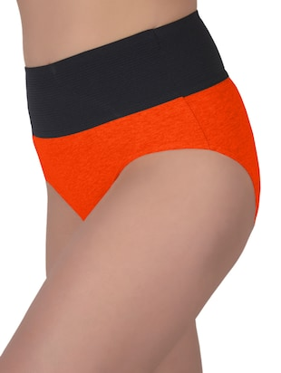 set of 5 multicolored cotton panties - 13081662 - Standard Image - 4