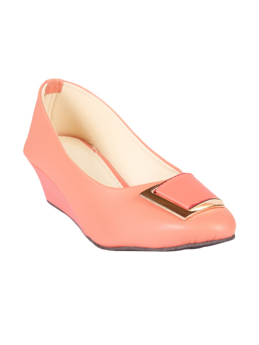 anand archies artificial leather bellies for women's and girl's aa 207 pink 36