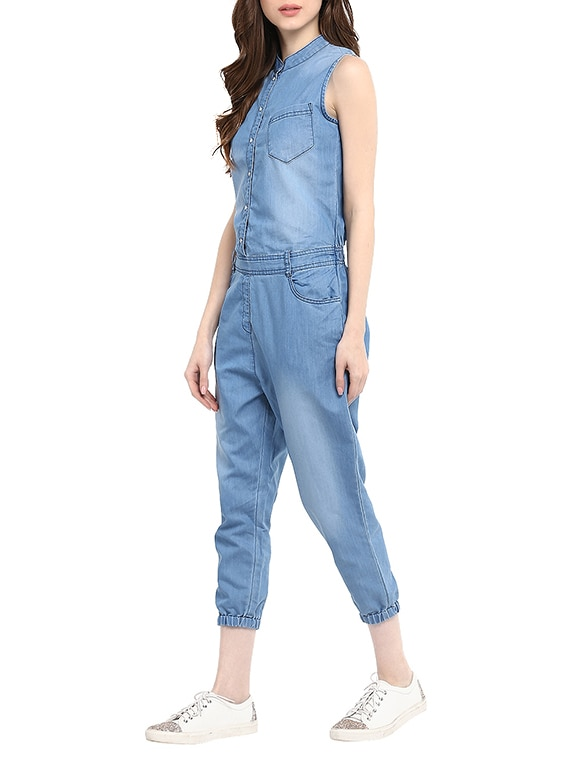 c41b6a972a Buy Blue Denim 34 Jumpsuit for Women from Stylestone for ₹1185 at 46% off