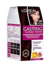 L'Oreal Paris Casting Creme Gloss Hair Color (Black Cherry - 360) - By