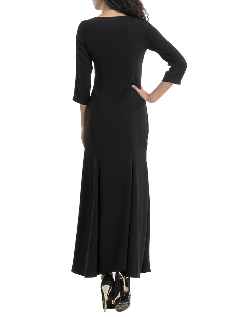 150f567200a Buy Black Embellished Maxi Dress for Women from Kazo for ₹1590 at 47% off