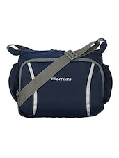 blue polyester messengerbag -  online shopping for messengerbags