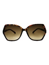 9e9b65de259 Zyaden Brown Oversized Sunglasses For Women 356 - Online Shopping for  Sunglasses
