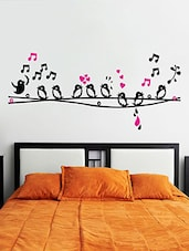 Wall Sticker (Birds,Wall Covering Area  35 X 22 Inch) - By