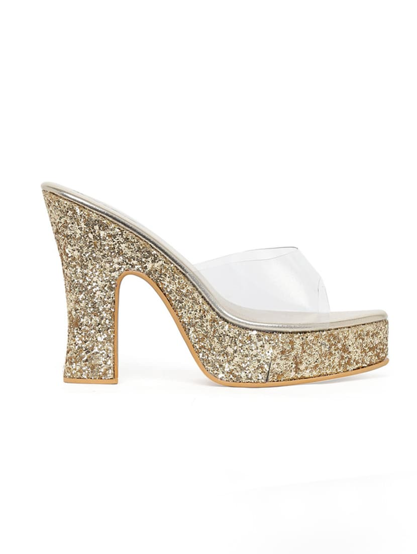 8a3d591ccdb Buy Gold Platforms Sandal for Women from Bruno Manetti for ₹1378 at 54% off