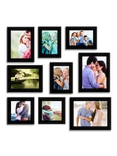 Wall Perfect Black Photo Frame Collage -  online shopping for Photo frames
