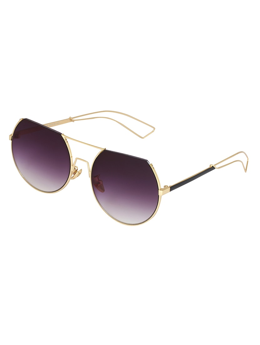 a551d34670 Buy Notjustiaras Semi Rimless Unisex Sun Glasses Ombre Uv Protected Lenses  - (ombre Demi) by Notjustiaras - Online shopping for Sunglasses in India