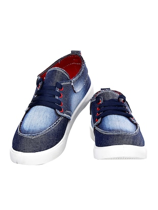 71be3c50c73c Buy Blue Pvc Lace Up Shoes for Men from Birdy for ₹1479 at 0% off ...